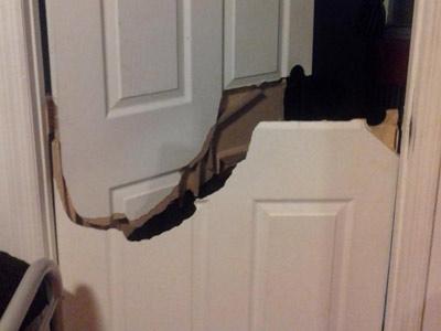 Before u0026 After Gallery & Break u0026 Enter Repair Break in Door Repairs Toronto